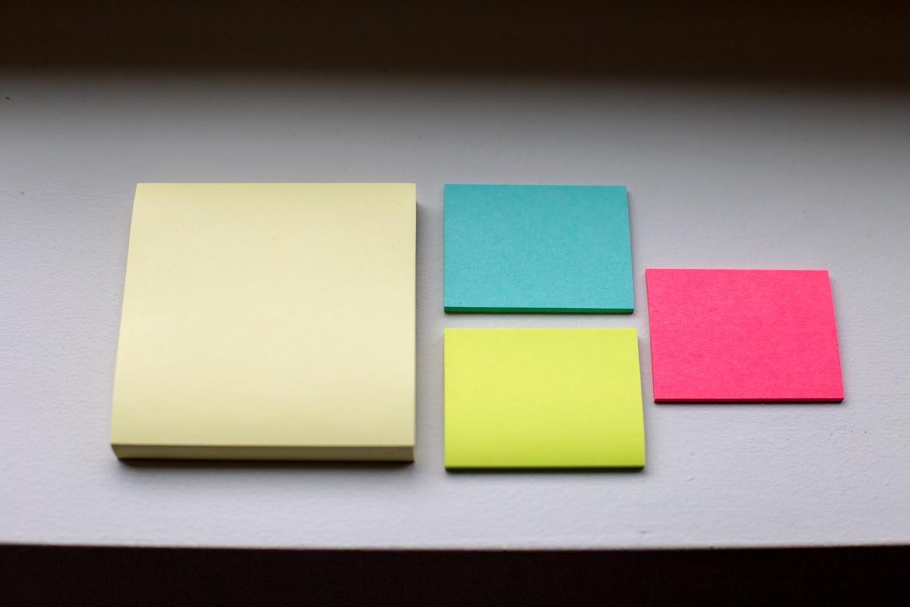 why we use giant post it notes as our publishing calendar the